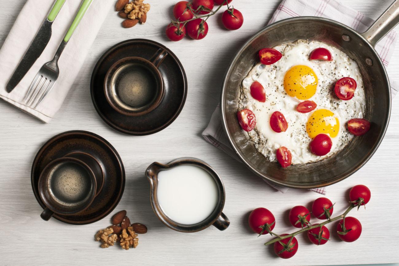zdrowie i jajka idą w parze